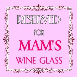 Personalised Mother Reserved For Acrylic Coaster